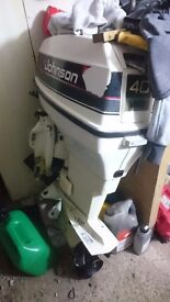 Johnson 40hp outboard