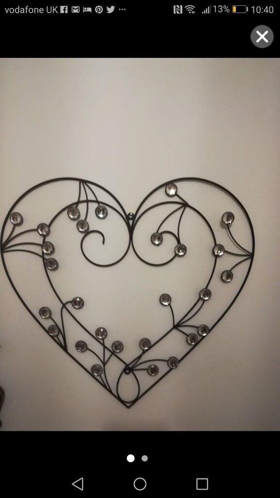 Metal Heart wall art | in Portadown, County Armagh | Gumtree