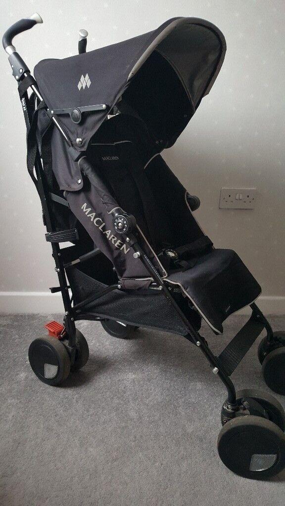 Maclaren Techno XT buggy stroller black