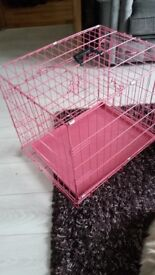 """Dog Crate w18"""" l23"""" h20"""" callapsable"""