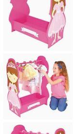 Girls princess dressing up rail