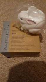 Baby Bunny Tealight Holder *Partylite*