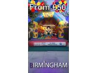 Bouncy castle hire Birmingham