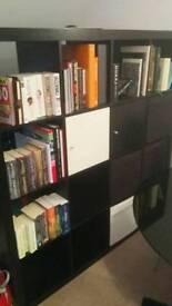 Ikea kallax shelf with doors