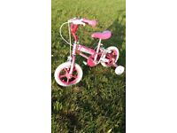 Girls bike 12 inch