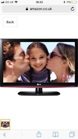"LG 22"" Flat Screen TV"