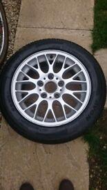 """BMW 16"""" alloys with Avon tyres"""