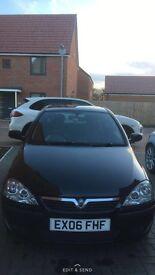 Black Vauxhall Corsa/ low miles