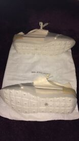 EX DISPLAY !! BALENCIAGA RUNNERS WITH DUST BAG ONLY !!