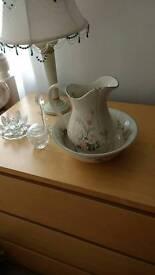 Jug and bowl set