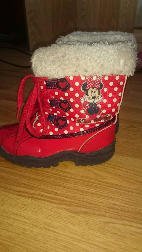 Disney size 10 girl boots
