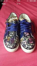 Adidas style trainers uk size 8