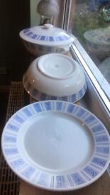 Vintage French china serving set