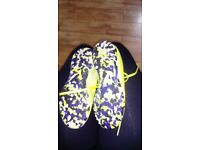 Boys football trainers size 12