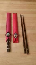 Ornamental Chop sticks