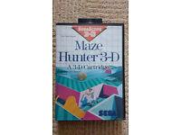 Maze Hunter 3D Master System Game