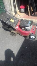 Manfield lawnmower self-propelled and in working condition
