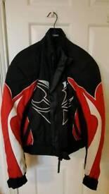 Ladies small Hein Gericke motorcycle jacket