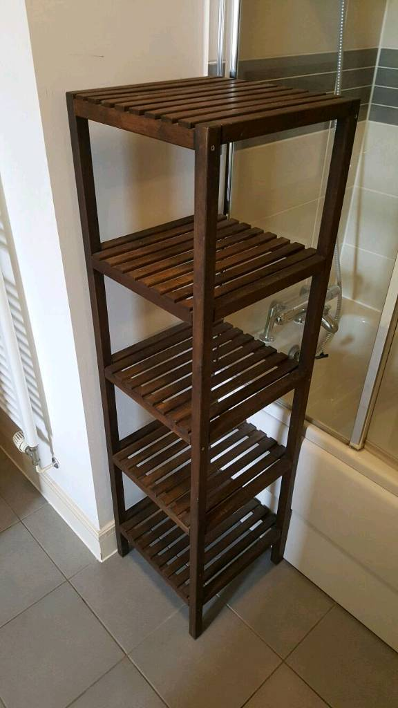 Bathroom storage tower