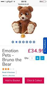 Emotion bear brand new never played with