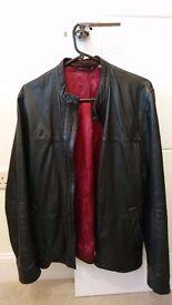 Ted Baker black leather jacket