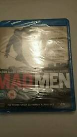 Mad men blue ray sets bniw