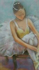 Really Lovely Ballerina Decoupage Picture
