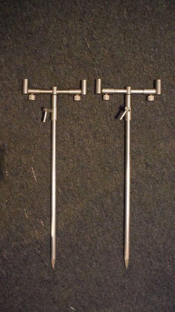 Stainless Steel Compact Buzz Bar Setup Rod Pod Cheap Carp