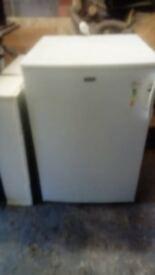 White stand alone freezer