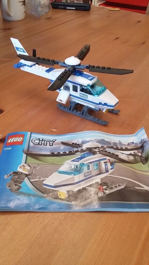 Lego City Police Helicopter 7741 In Coulsdon London Gumtree