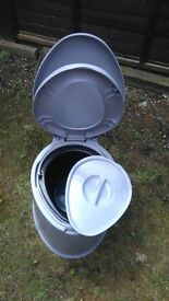 camping or child training porter loo
