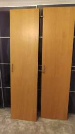 Ikea nexus oak veneer doors