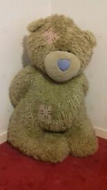 Giant Tatty Teddy 1m tall standing VGC from pet free, smoke free home