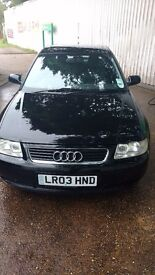 AUDI A3 1.8 IN GREAT SHAPE WITH LOW MILES