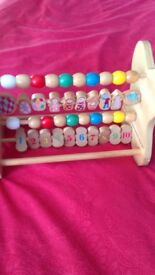 In the night garden Wooden Abacus Toy
