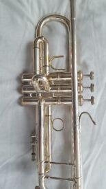 Bach Stradivarius model 37 M/L silver plated Bb Trumpet - 426469