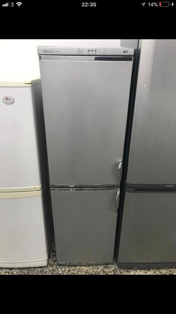 Servis fridge freezer A++ 4 month warranty free delivery and installation
