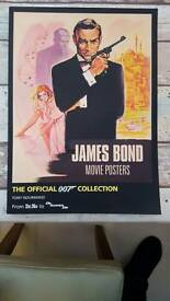 Official James bond movie posters book