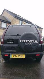 Honda crv black 4x4
