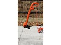 Black and Decker electric strimmer 250W grass trimmer