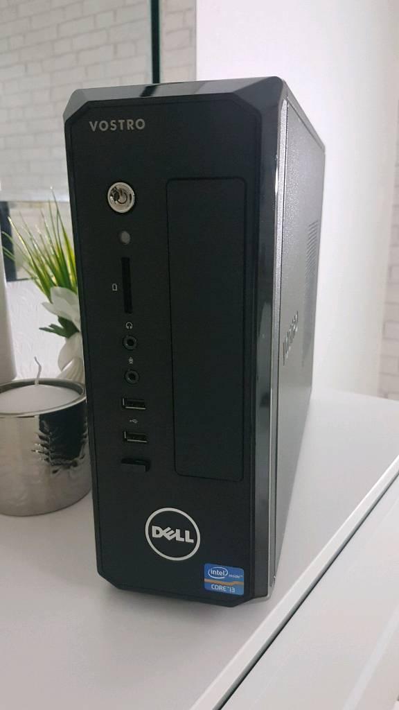 04d3ae2cfbe048 Fast Dell Vostro Mini PC Intel Core i3 8Gb Ram Wifi HDMI 500Gb USB 3 Win 10  REFURBISHED