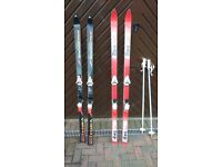 Snow Skis, Poles, Boots and Bags
