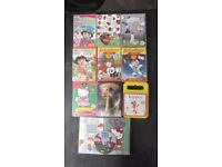 Childrens DVDs (Dora, Curious George, Charlie & Lola, Ben & Holly, Hello Kitty, Harry & Dinos, etc