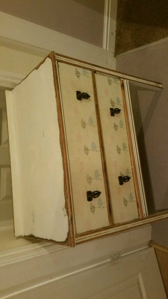 Vintage chest of drawers. Shabby chic