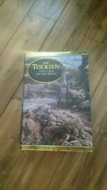 Lord of the Rings illustrated hard back edition