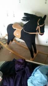 rocking horse. large.