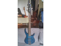 Peavey Millennium BXP 5 strings electric bass with hard case