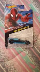 Spiderman2- Electro hotwheels car