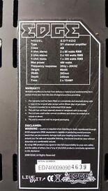 Edge 400watt amplifier