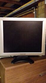 "Packard Bell 17"" flatscreen monitor at GARAGE SALE 29 & 30 OCT OAKWOOD PARK YOXFORD SUFFOLK"